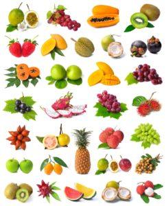 Sweet High Fiber Fruits for Breakfast
